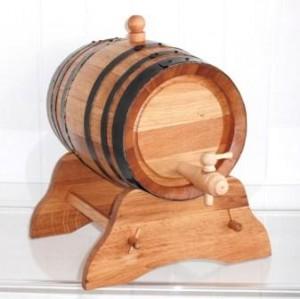 Wein- und Spirituosenfaß in 3, 5, 10 und 20 Liter- Ausführung, weitere Größen auf Anfrage